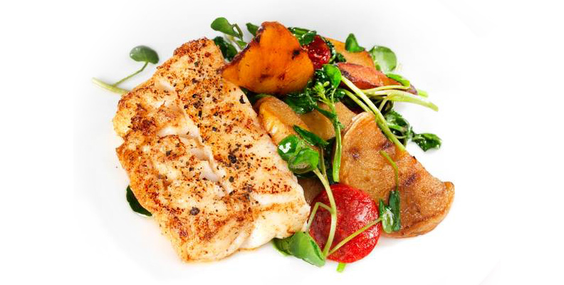 Marinated and Spiced Cod