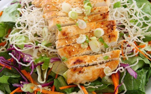 Ginger Sesame Turkey Salad